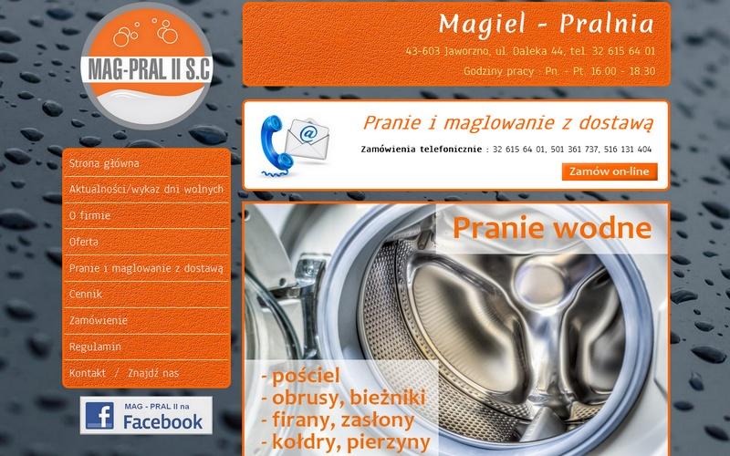 Magiel I Pralnia Jaworzno Realizacje Agencji Interaktywnej