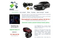 Hybrid-Auto generatory HHO do samochodów