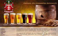 Zestawy do domowego wytwarzania piwa